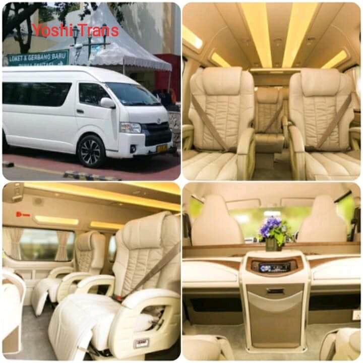 Sewa Hiace Luxury Jakarta